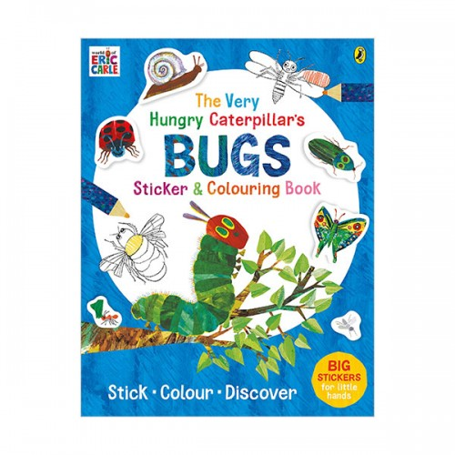 The Very Hungry Caterpillar's Bugs Sticker and Colouring Book (Paperback, 영국판)