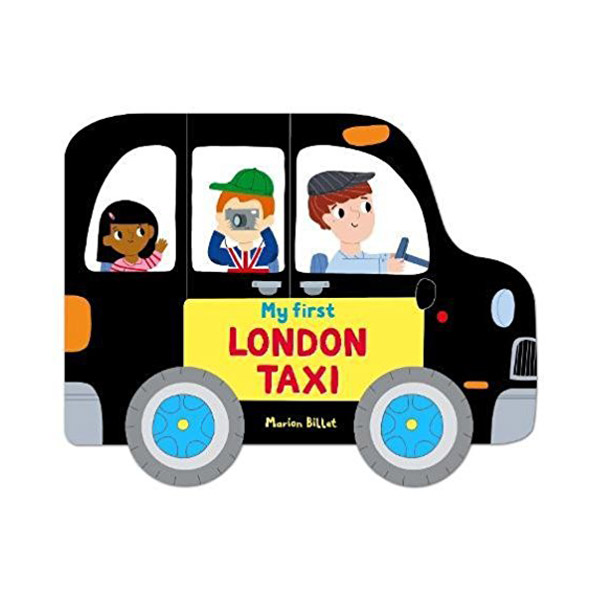 Whizzy Wheels : London Taxi (Board book)