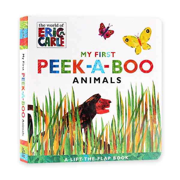 The World of Eric Carle : My First Peek-a-Boo Animals (Board book)