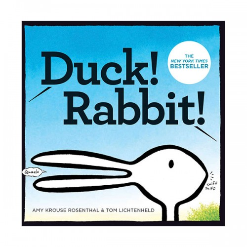 Amy Krouse Rosenthal : Duck! Rabbit! (Board book)