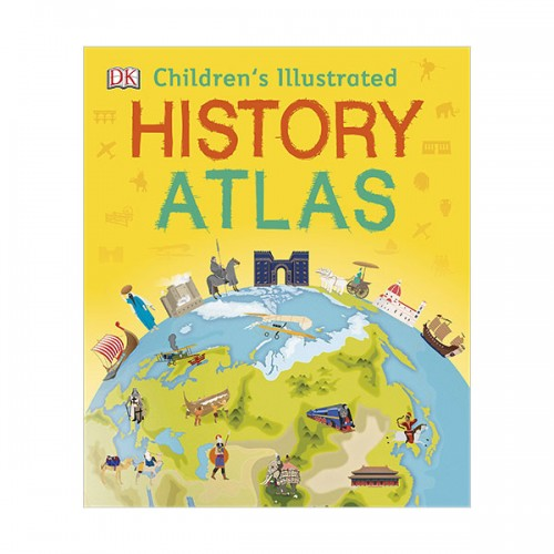Children's Illustrated History Atlas (Hardcover, 영국판)