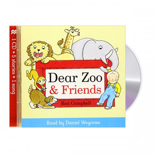 Dear Zoo and Friends Audio (Unabridged Audio CD, 영국판)