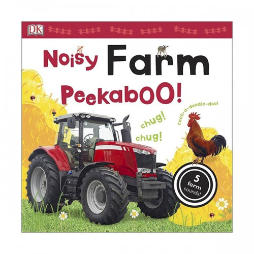 Noisy Farm Peekaboo! (Sound Book, 영국판)