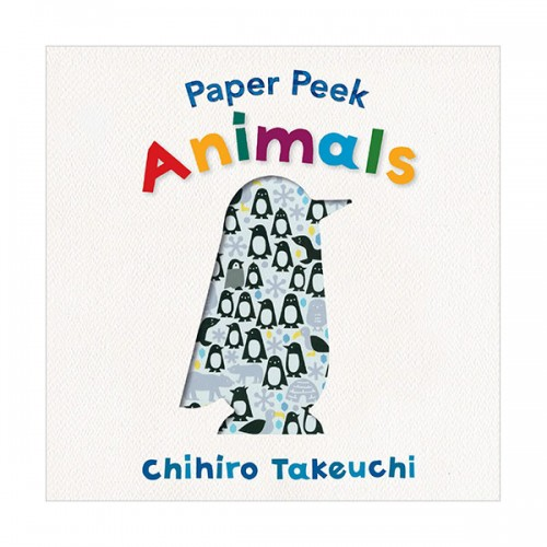 Paper Peek : Animals (Board book)