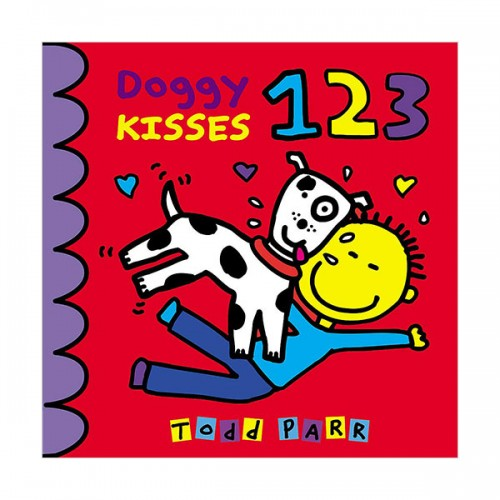 [★LOVE★] Doggy Kisses 123 (Padded Board Book)
