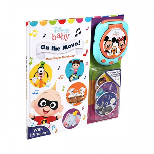 Disney Baby : On the Move! Music Player Storybook (Hardcover)