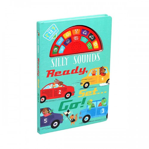 Silly Sounds : Ready, Set...Go! (Board book,Sound Book)