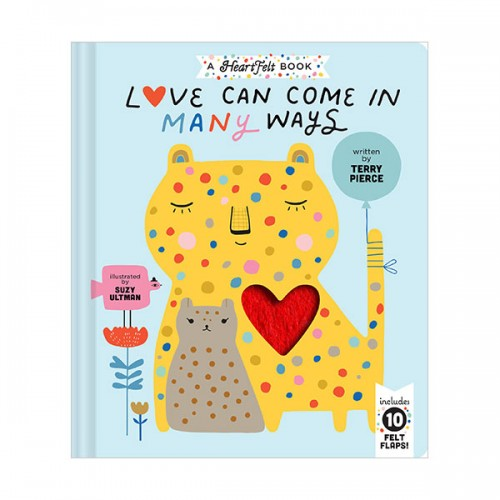 Love Can Come in Many Ways (Board book)