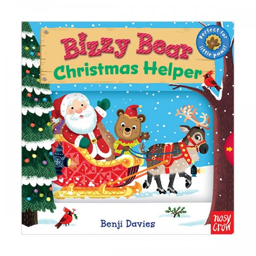 Bizzy Bear : Christmas Helper (Board book)