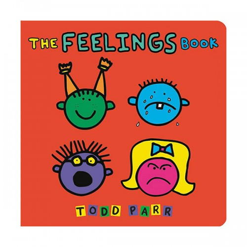The Feelings Book (Board book)