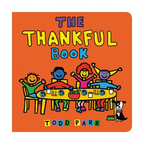 The Thankful Book (Board book)