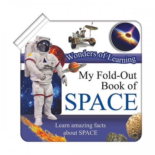 Discover Space Foldout Reference Book (Hardcover)