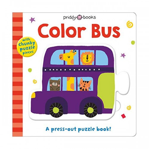 Puzzle and Play : Color Bus (Board book)