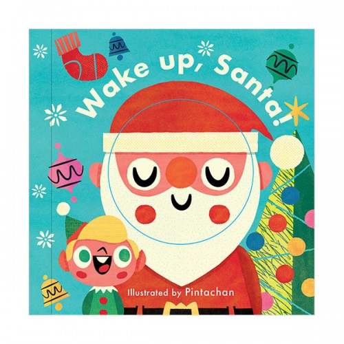 Little Faces : Wake Up, Santa!  (Board book, 영국판)