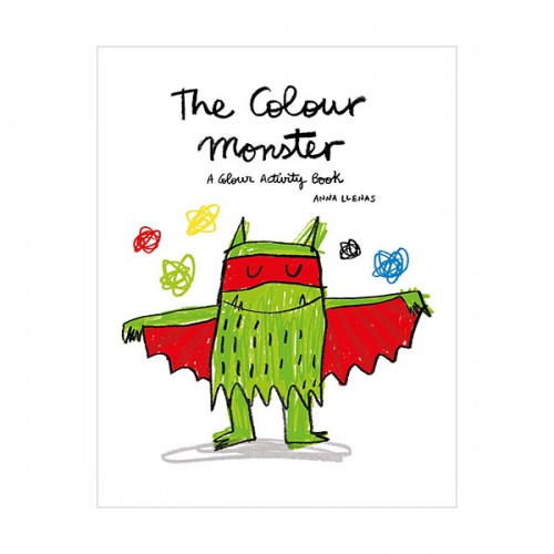 The Colour Monster : A Colour Activity Book (Paperback, 영국판)