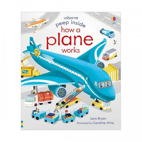 Peep Inside How a Plane Works (Board book, 영국판)
