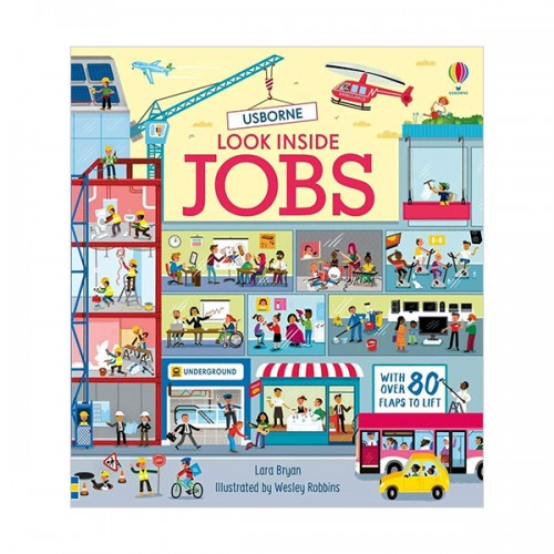 Look Inside : Jobs (Board book, 영국판)