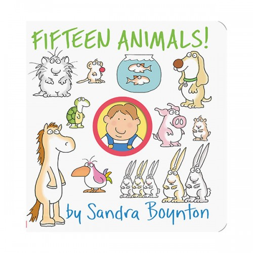Boynton on Board : Fifteen Animals! (Board book)