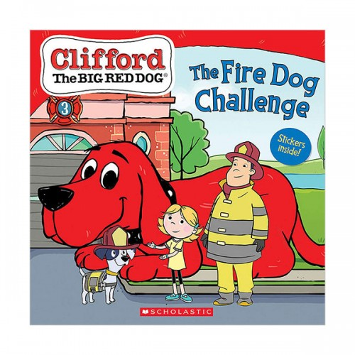 Clifford the Big Red Dog Storybook : The Fire Dog Challenge (Paperback)