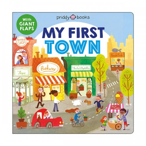 My First Places : My First Town (Board book)