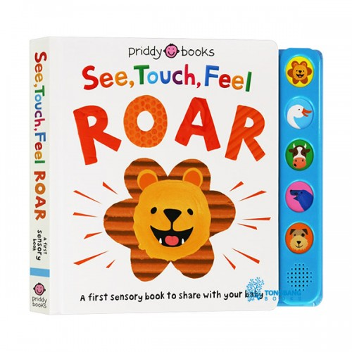 See, Touch, Feel : Roar (Hardcover, Sound Book)