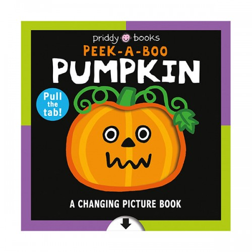 Changing Picture Book : Peek a Boo Pumpkin (Board book)