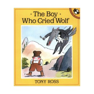 Picture Puffin Books : The Boy Who Cried Wolf (Paperback)