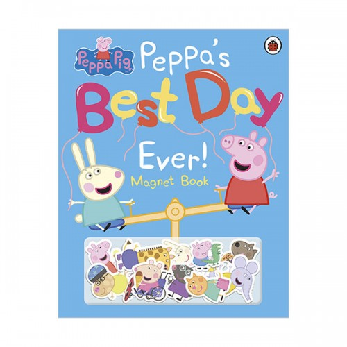 Peppa Pig : Peppa's Best Day Ever Magnet Book (Hardcover, 영국판)