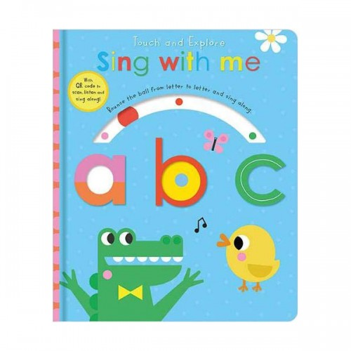 Touch and Explore Sing with me abc (Board book, 영국판)