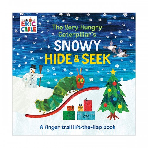 에릭칼 : The Very Hungry Caterpillar's Snowy Hide & Seek (Board book)