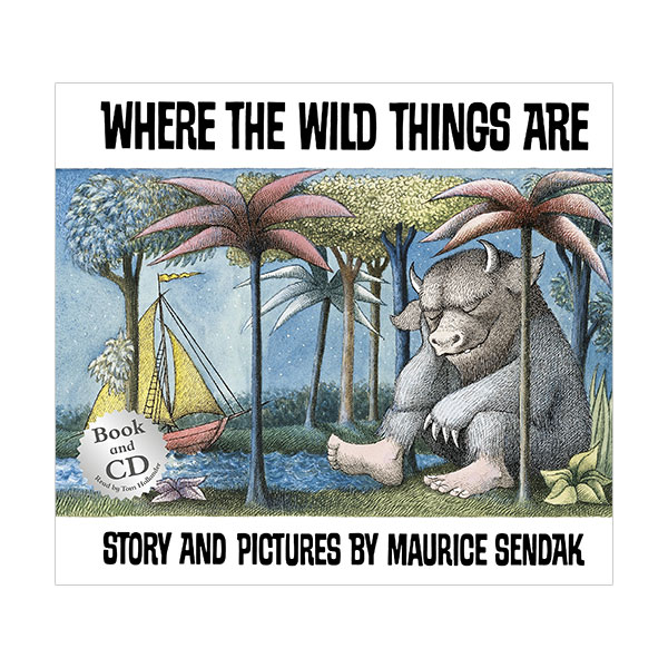 Where the Wild Things are : 괴물들이 사는 나라 (Paperback & CD, 영국판)