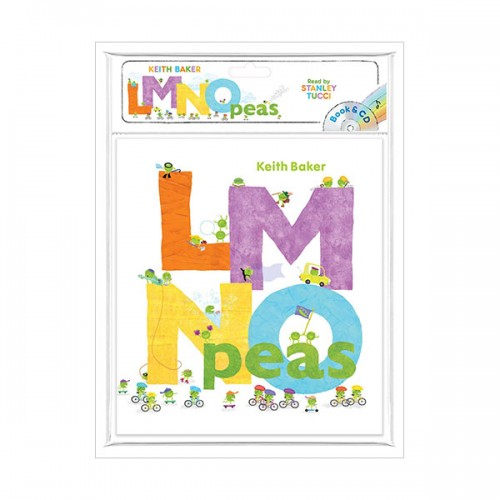 The Peas Series : LMNO Peas (Book & CD)
