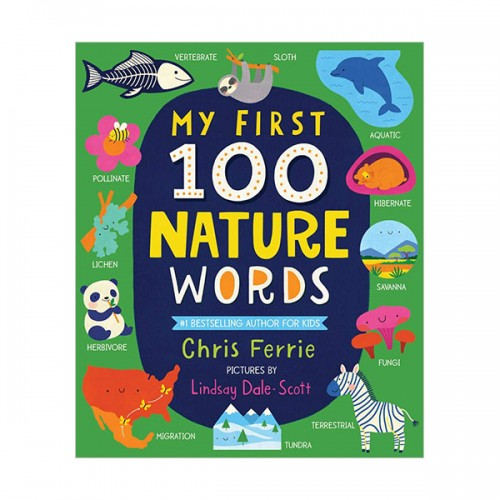 My First 100 Nature Words (Board book)