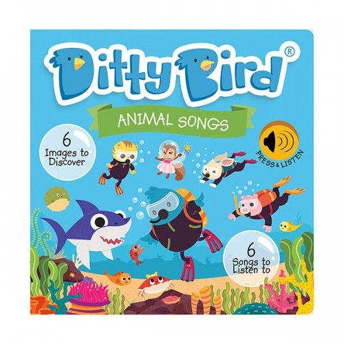 Ditty Bird : Animal Songs (Sound Board book)