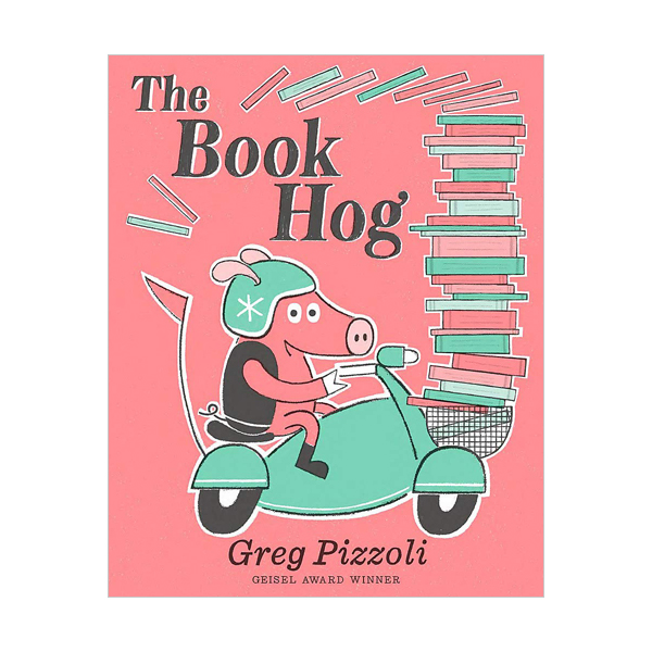 그레그 피졸리 : The Book Hog (Hardcover)