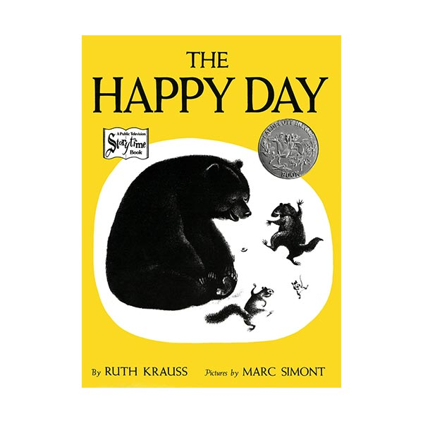 [1950 칼데콧] The Happy Day (Paperback)