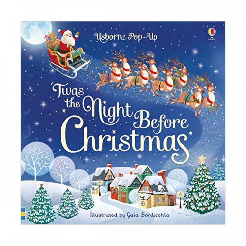 Usborne Pop-Up : Twas The Night Before Christmas (Board book, 영국판)
