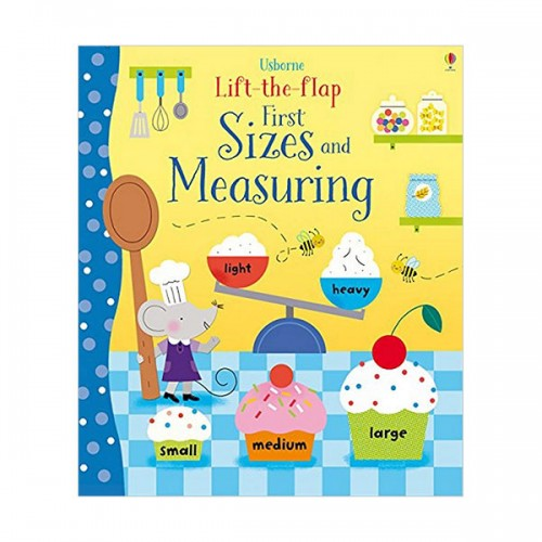 Lift-the-Flap Sizes and Measuring (Board book, 영국판)