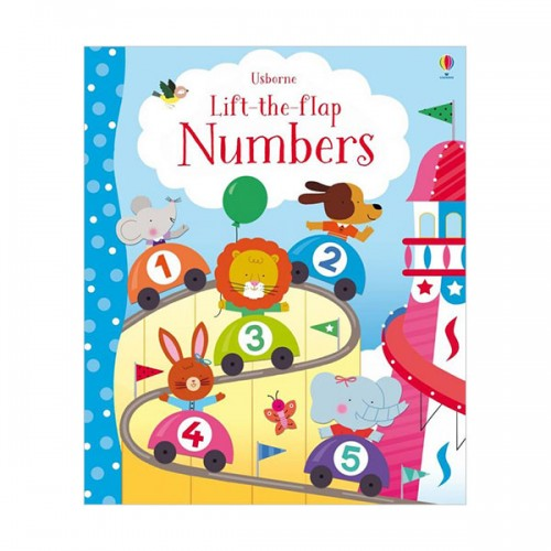 Lift-the-Flap Numbers (Board book, 영국판)