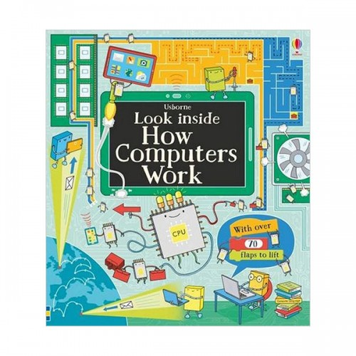 Usborne Look Inside : How Computers Work (Board book, 영국판)