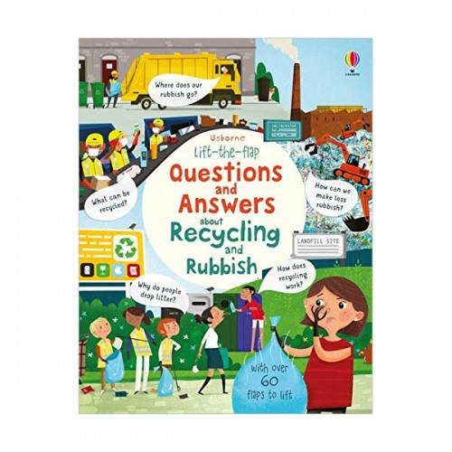 Lift-the-flap Questions and Answers :  Recycling and Rubbish (Board book, 영국판)