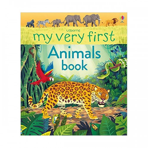 My First Book : My Very First Animals Book (Board book, 영국판)