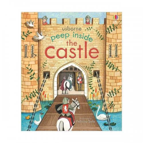 Usborne Peep Inside : The Castle (Board book, 영국판)