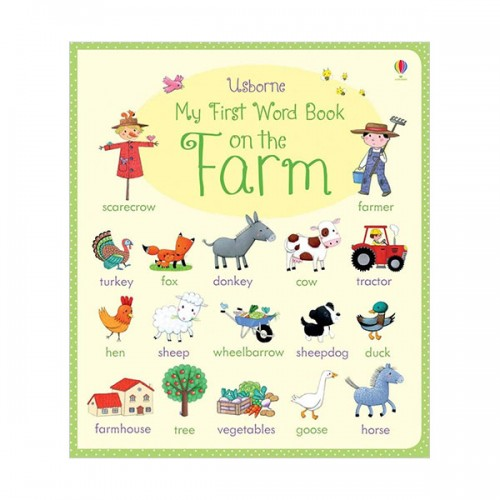 My First Word Book on the Farm (Board book, 영국판)
