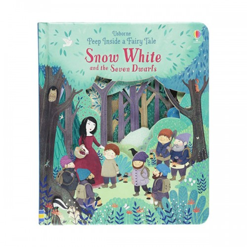 Peep Inside a Fairy Tale : Snow White and the Seven Dwarfs (Board book, 영국판)