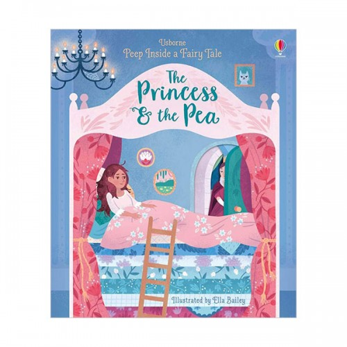 Peep Inside a Fairy Tale : Princess & the Pea (Board book, 영국판)