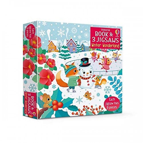 Winter Wonderland (Book and 3 Jigsaws Puzzle, 영국판)