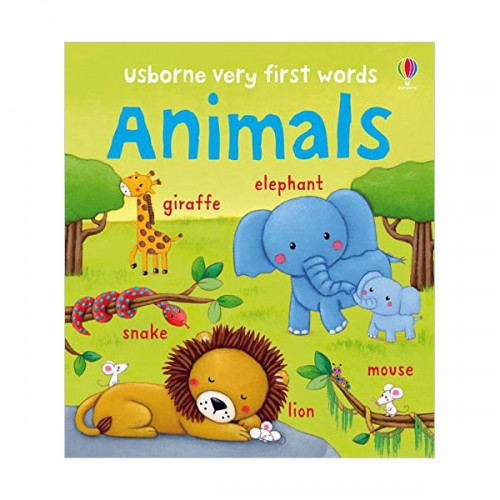 Usborne Very First Words : Animals (Board book, 영국판)