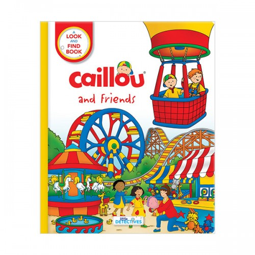 Caillou and Friends : Little Detectives (Board book)