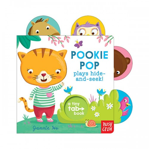 Tiny Tabs : Pookie Pop Plays Hide and Seek (Board book, 영국판)